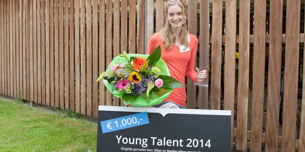 Winnaar Young Talent 2014 - Nienke Flietstra