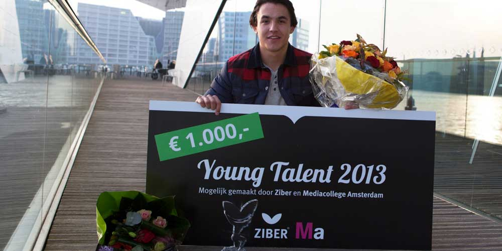 Winnaar Young Talent 2013 - Ruben Bruijnje