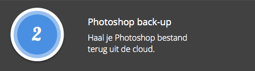Photoshop back-up